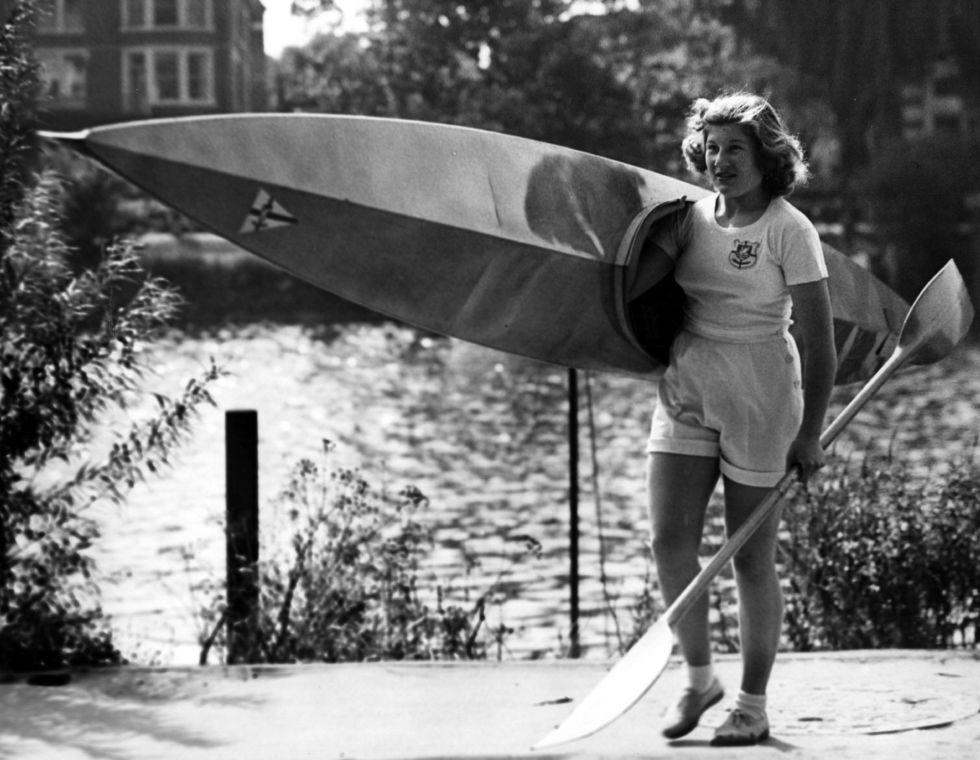 d21d29180f XIV. nyári olimpiai játékok, London, Nagy-Britannia, 1948: Joyce Web, az  angolok legnagyobb reménysége volt abban az évben